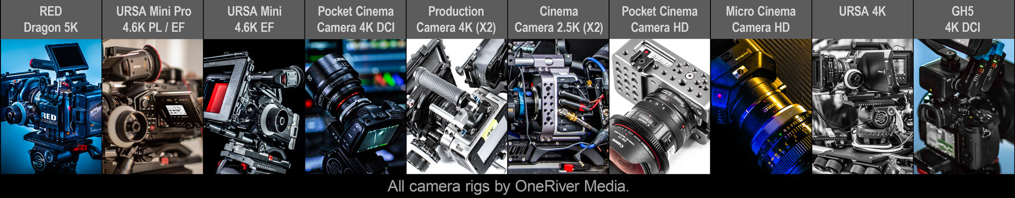 Camera packages by OneRiver Media