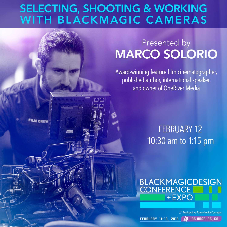 Marco Solorio Presenting